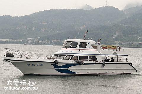 台北航運船隻