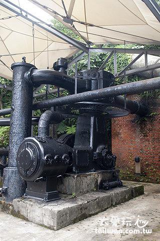 本山五坑通氣設備