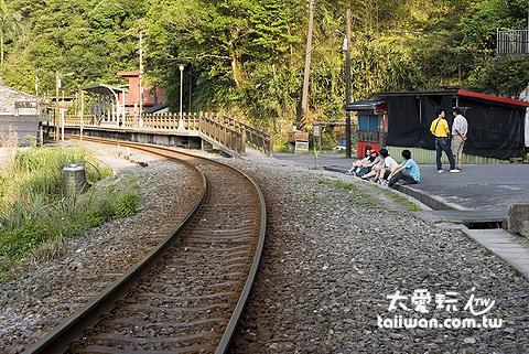 平溪鐵道有著濃濃的日式懷舊風味