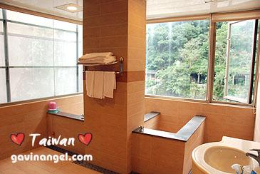 烏來湯布苑溫泉旅館湯屋