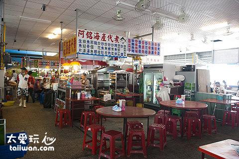 直銷中心(華僑市場)美食攤