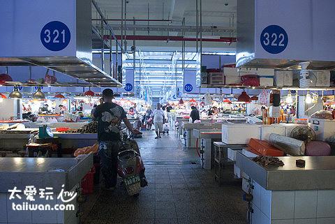 直銷中心(華僑市場)鮮魚區