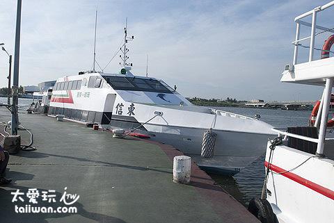 民營小琉球交通船