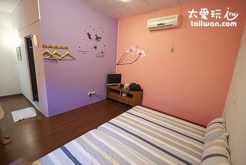 陽光藍海民宿房間