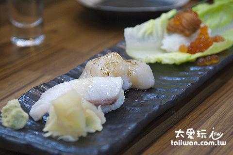 生魚片壽司