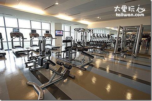 華航諾富特飯店健身房