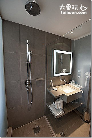 華航諾富特飯店Novotel行政客房浴室