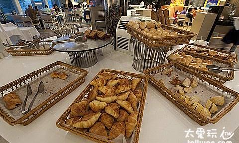 華航諾富特飯店品坊的早餐