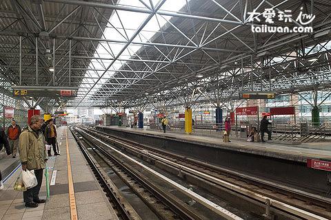 捷運北投站換車