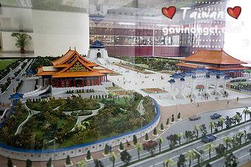 中正紀念堂全區模型