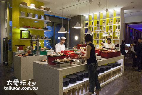 The Kitchen Table日本料理區