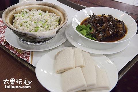 砂鍋菜飯與東坡肉