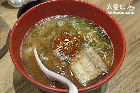 台北博多一風堂拉麵辣肉味噌