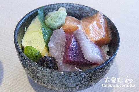 躼腳日式料理生魚片丼
