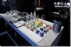 台北寒舍艾美酒店的行政樓層貴賓室免費吃吃喝喝
