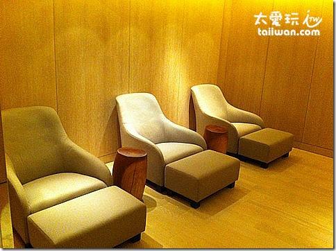台北寒舍艾美酒店三溫暖休息室