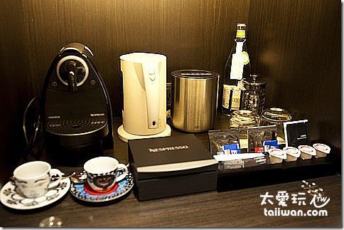 臺北寒舍艾美酒店行政客房茶與咖啡