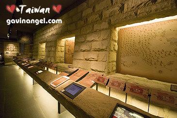 四樓展場展示台北城的起源