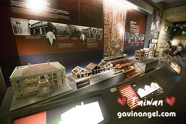 台北傳統建築模型