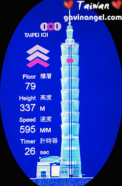 全世界最快的電梯