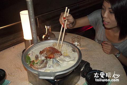 好吃的牛奶火鍋