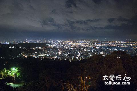美麗的台北夜景