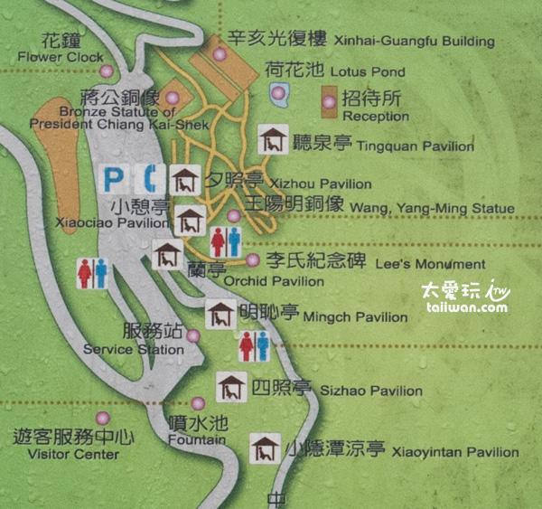 陽明公園地圖