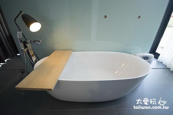 獨棟雙人別墅泡澡浴缸