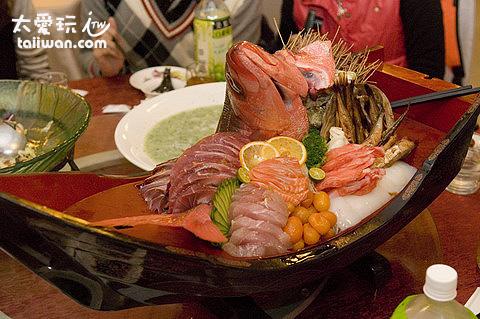 令人感動按讚的生魚片