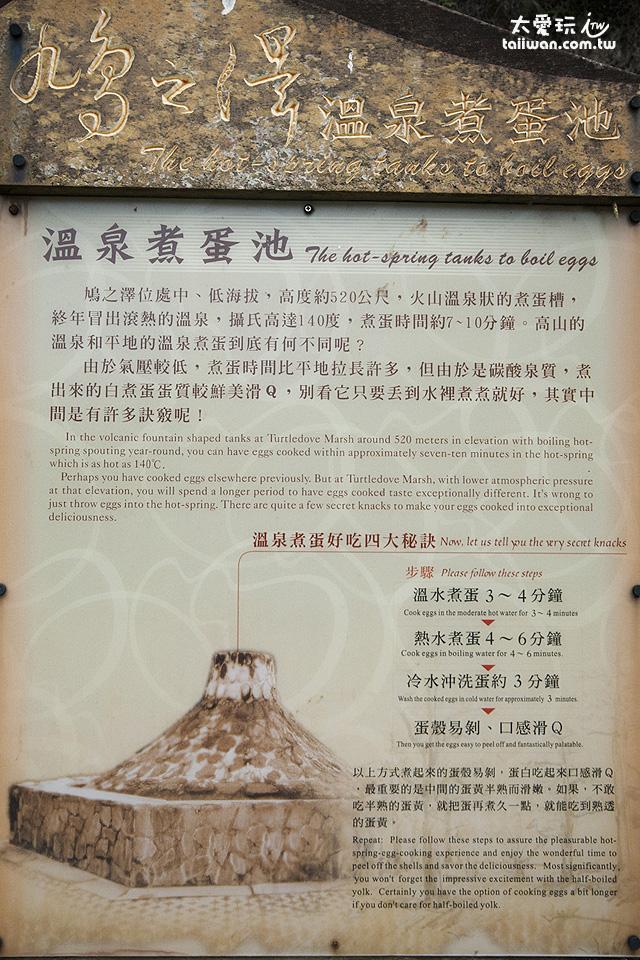 鳩之澤溫泉煮蛋教學