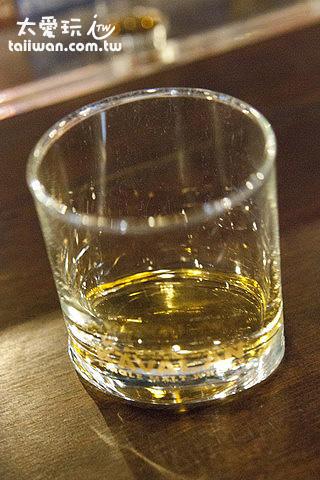 試飲的威士忌酒