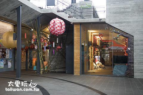 文化市集展示著宜蘭一些手創業者的特色產品