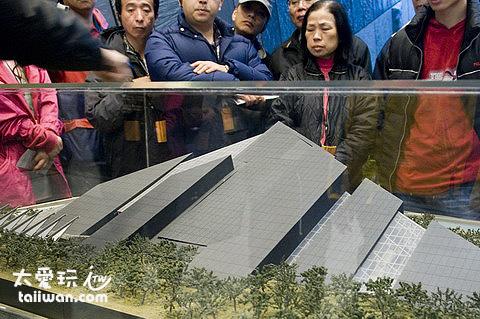 蘭陽博物館的半面山設計