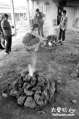 廣興農場焢土窯活動