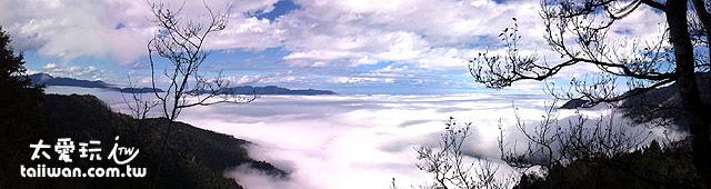 太平山雲海美景