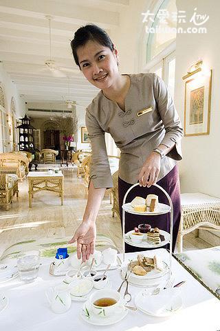 曼谷東方文華貴婦下午茶