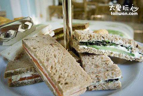 鹹味三明治