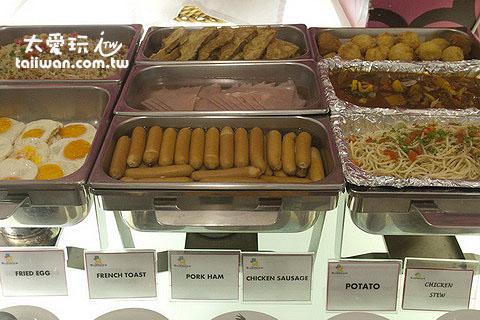 布達扣飯店熱食早餐