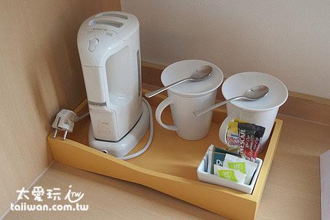 簡單的泡咖啡設備