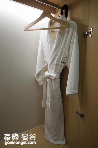 質感很讚的浴袍