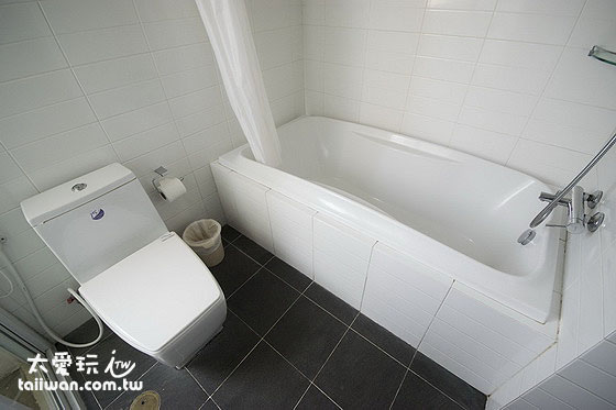 雙房公寓客房浴室