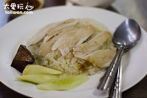 Prom Phong海南雞飯份量不多