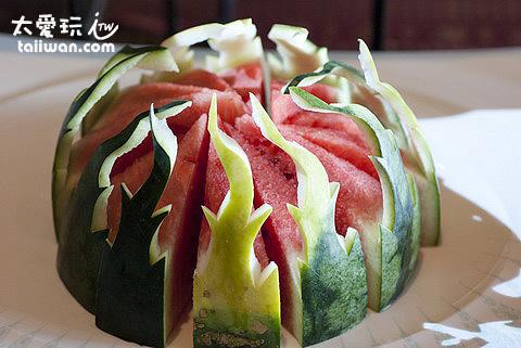 水果雕是泰國菜藝術精華