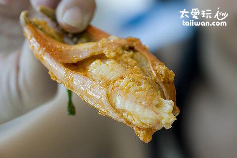 咖哩螃蟹超讚