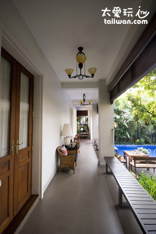Baan Klang Wiang Hotel殖民時代風格精品旅館