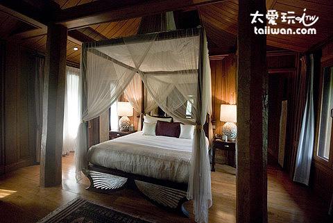 古泰國建築風格的房型