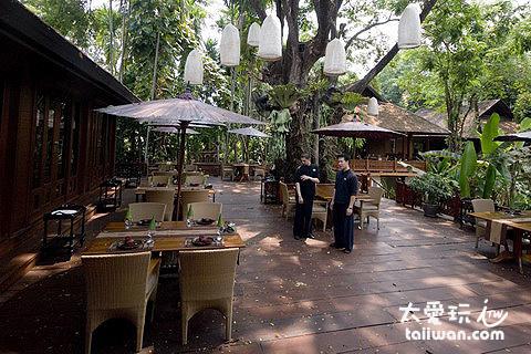 很有泰北風味的餐廳