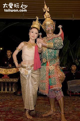 神話舞蹈表演