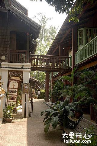 The Dhara Dhevi Hotel Chiang Mai市集村落