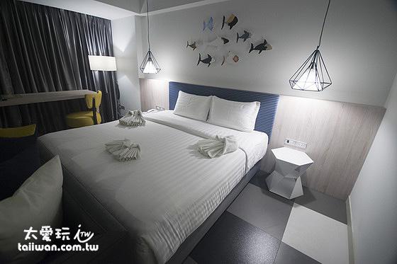喀比鎮便宜住宿推薦 喀比海鱸飯店Krabi SeaBass Hotel